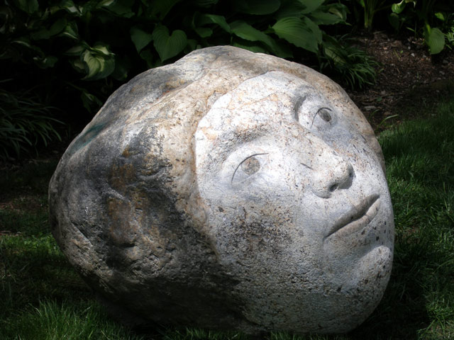 Joe Wheelwright - round faced stone